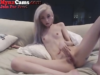 Adorable Skinny Webcam Teen Talks Dirty To You