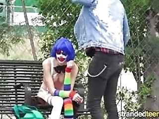 Strandedteens - Dirty Clown Gets Into Some Funny Business